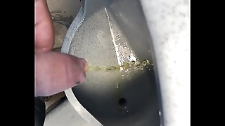 solobdsmman 24 -cum in chimical toilet