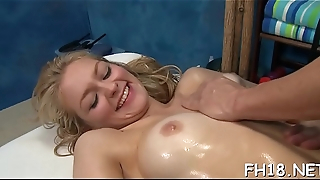 Cute beauty sucks dick, demonstrates delights coupled with gets banged