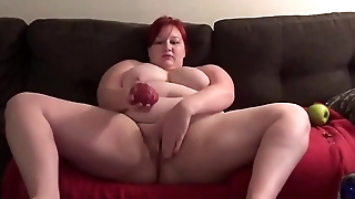 fruit salad in bbw pussy part 1 - GoldBBW.com